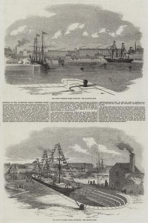 Opening of the Plymouth Great Western Docks