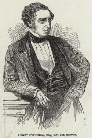 Robert Stephenson, Esquire, Mp for Whitby