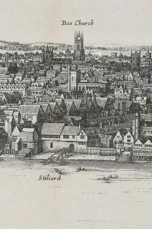 View of London by Wenceslaus Hollar, 1647