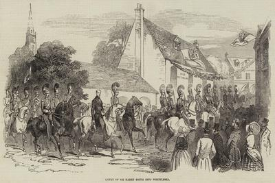Entry of Sir Harry Smith into Whittlesea
