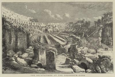 The Excavations at the Colosseum, Rome