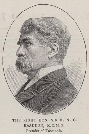 The Right Honourable Sir E N C Braddon