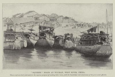 Squeeze Boats at Wuchan, West River, China