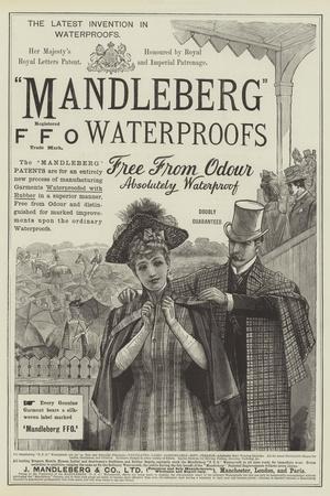 Advertisement, Mandleberg FFO Waterproofs