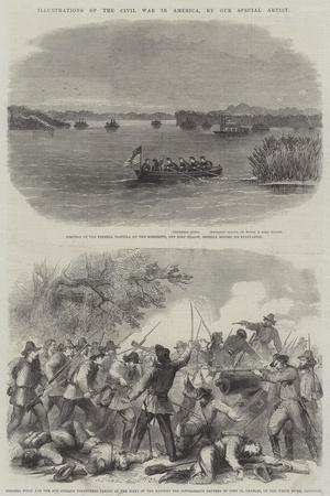 Illustrations of the Civil War in America