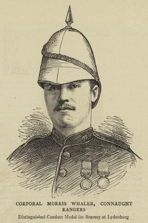Corporal Morris Whaler, Connaught Rangers