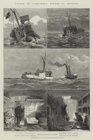 Voyage of Cleopatra's Needle to England