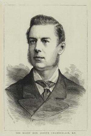 The Right Honourable Joseph Chamberlain