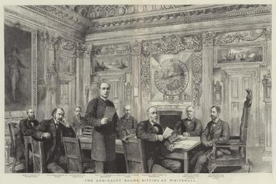The Admiralty Board Sitting at Whitehall