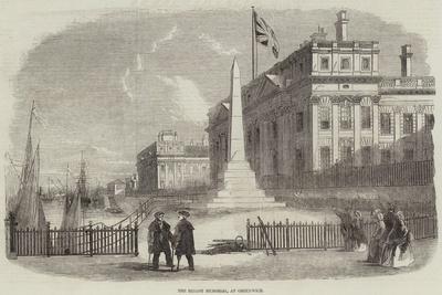 The Bellot Memorial, at Greenwich