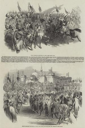 Grand Marriage Festivities at Cairo
