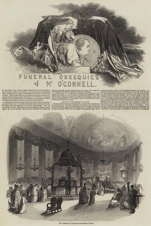 Funeral Obsequies of Mr O'Connell