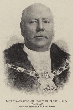 Lieutenant-Colonel Clifford Probyn