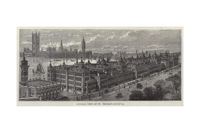 General View of St Thomas's Hospital