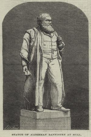 Statue of Alderman Bannister at Hull