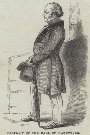 Portrait of the Earl of Hardwicke