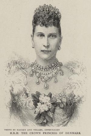 H R H the Crown Princess of Denmark