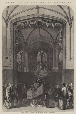 Funeral of the Late Duke of Rutland