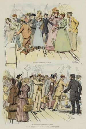 John Bull's Trip to the Continent