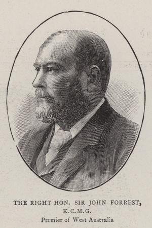 The Right Honourable Sir John Forrest