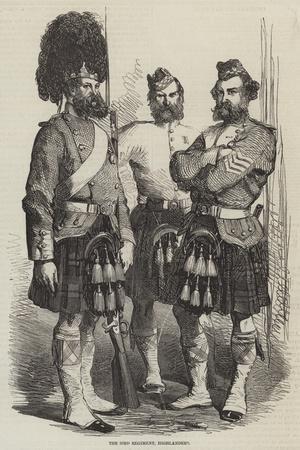 The 93rd Regiment, Highlanders