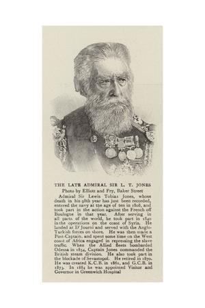 The Late Admiral Sir L T Jones