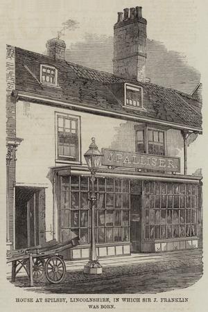 Birthplace of Sir John Franklin
