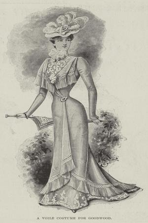 A Voile Costume for Goodwood
