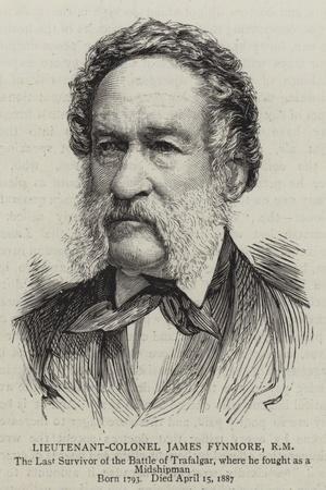 Lieutenant-Colonel James Fynmore