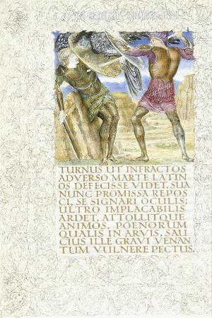 Aeneas Slays Turnus, 1874-C.1919