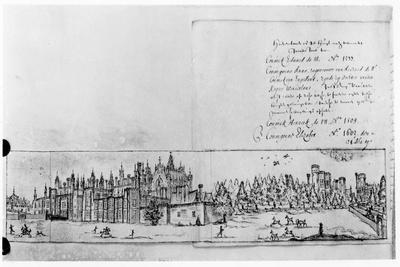 View of Hampton Court Palace