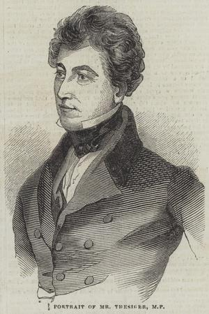 Portrait of Mr Thesiger, Mp