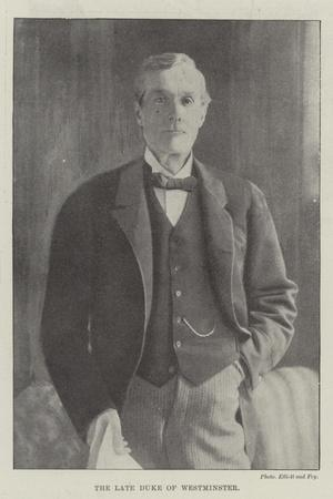 The Late Duke of Westminster