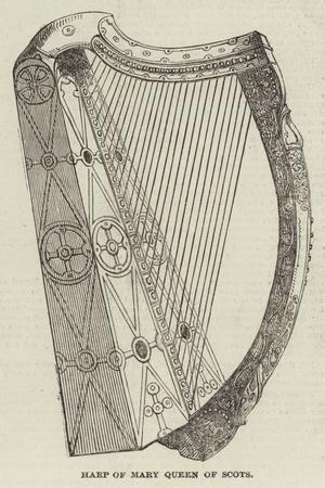 Harp of Mary Queen of Scots