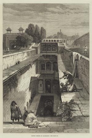 Hindoo Shrine at Allahabad