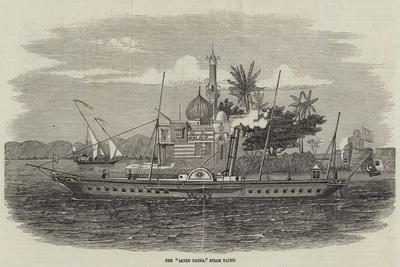 The Sayed Pacha, Steam Yacht