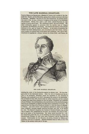 The Late Marshal Sebastiani