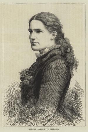 Madame Antoinette Sterling