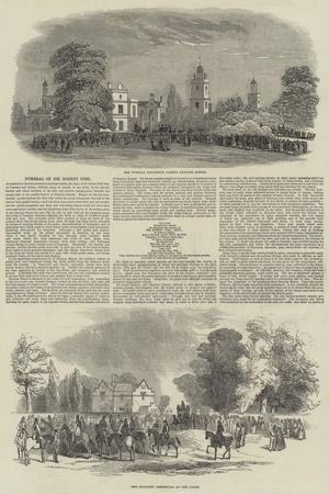 Funeral of Robert Peel