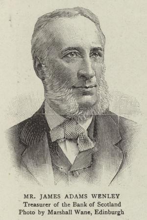 Mr James Adams Wenley