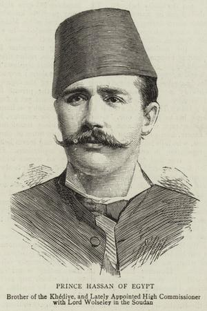 Prince Hassan of Egypt
