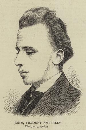 John Viscount Amberley