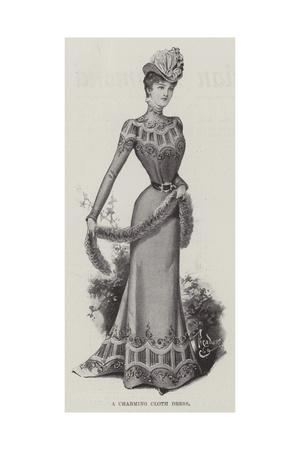 A Charming Cloth Dress