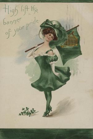 Irish Girl, All in Green
