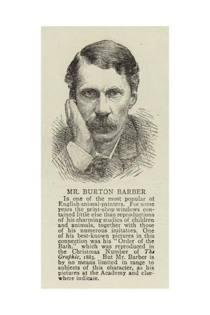 Mr Burton Barber