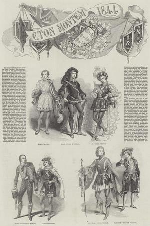 Eton Montem in 1844