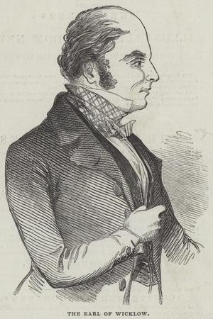 The Earl of Wicklow