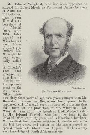 Mr Edward Wingfield
