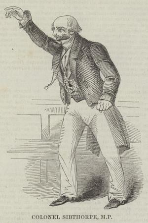 Colonel Sibthorpe