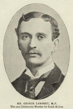 Mr George Lambert